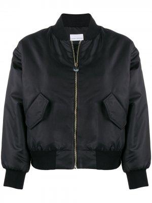 Куртка-бомбер Chiara Ferragni. Цвет: черный