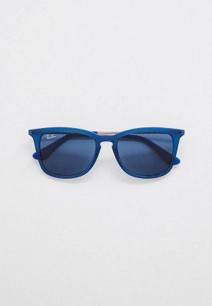 Очки солнцезащитные Ray-Ban® RJ9063S 706080. Цвет: синий