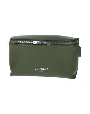 Поясная сумка GOLDEN GOOSE DELUXE BRAND. Цвет: зеленый-милитари
