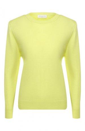 Шерстяной пуловер Dries Van Noten. Цвет: зеленый
