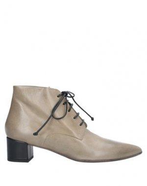 Полусапоги и высокие ботинки MARSÈLL. Цвет: хаки