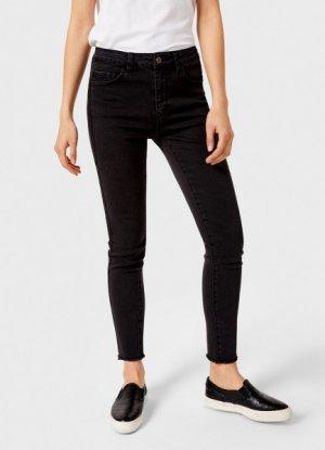 Зауженные джинсы O`Stin. Цвет: графитовый