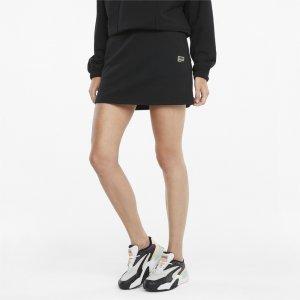 Юбка Downtown Womens Skirt PUMA. Цвет: черный
