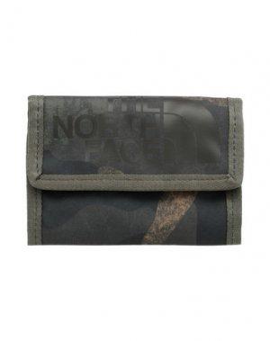 Бумажник THE NORTH FACE. Цвет: зеленый-милитари