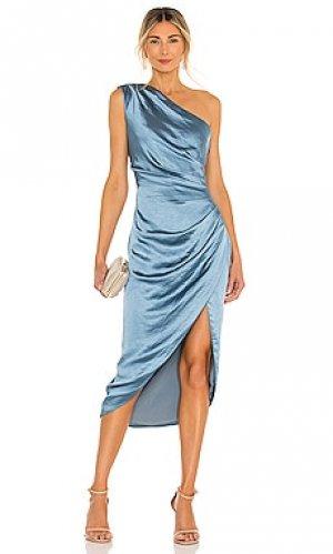 Платье cassini ELLIATT. Цвет: синий