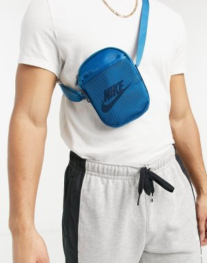 Бирюзовая сумка-кошелек на пояс Heritage-Голубой Nike