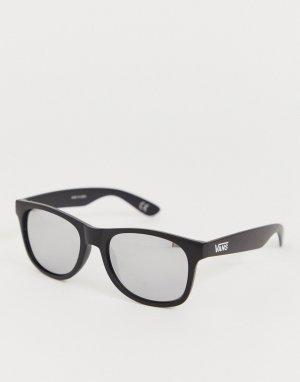 Солнцезащитные очки в матовой оправе черного цвета Spicoli 4-Черный цвет Vans
