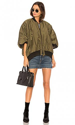 Куртка NSF. Цвет: оливковый