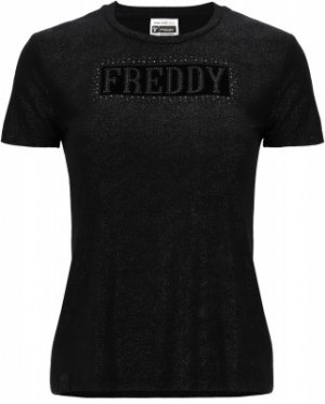 Футболка женская , размер 46-48 Freddy. Цвет: серый