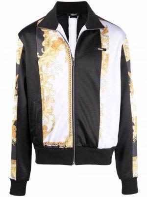 Спортивная куртка с принтом Medusa Renaissance Versace. Цвет: черный