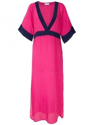 Платье миди Brigitte. Цвет: розовый