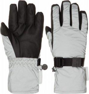 Перчатки для девочек , размер 5 Reima. Цвет: серый