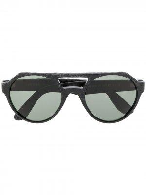 Солнцезащитные очки-авиаторы Cape Town L.G.R. Цвет: черный