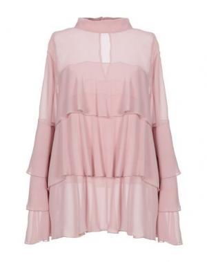 Блузка ANNA RACHELE. Цвет: телесный