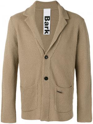 Классический пиджак Bark. Цвет: нейтральные цвета