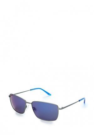Очки солнцезащитные PUMA PU053DMZHM32. Цвет: серебряный