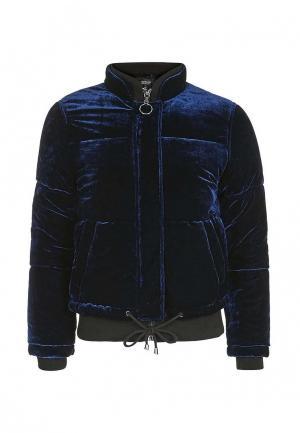 Куртка утепленная Topshop. Цвет: синий