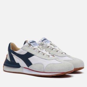 Мужские кроссовки Equipe Mad Italia Diadora Heritage. Цвет: белый