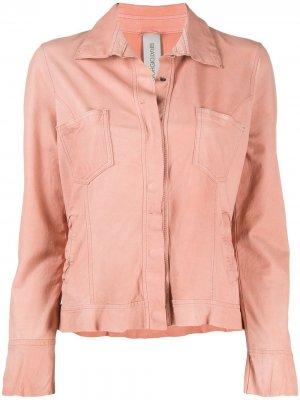 Куртка-рубашка Giorgio Brato. Цвет: оранжевый