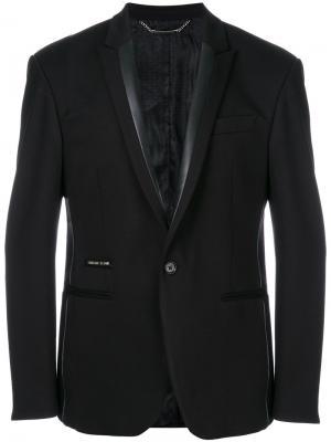 Пиджак Lennox Philipp Plein. Цвет: чёрный