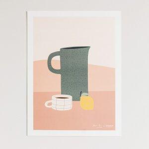 Постер LaRedoute. Цвет: разноцветный