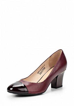 Туфли Clotilde SI293AWCQJ97. Цвет: бордовый