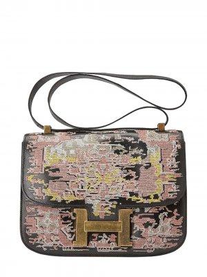 Vintage Constance 23cm, Persian Rug, Black, Leather Box, GHW - Final Sale Jay Ahr. Цвет: черный