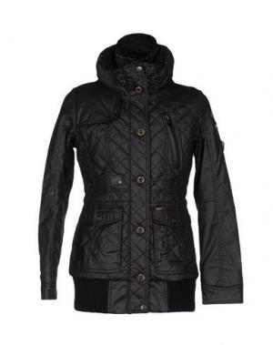 Куртка KHUJO. Цвет: черный
