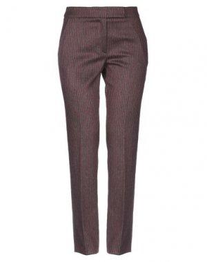 Повседневные брюки ANNECLAIRE. Цвет: красно-коричневый