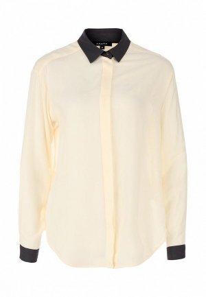 Блуза Axara AX003EWFU627. Цвет: бежевый