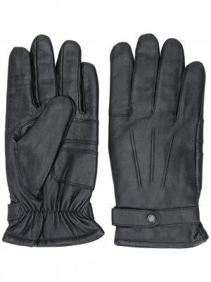 Перчатки Burnished Barbour. Цвет: черный