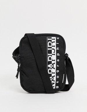 Черная сумка через плечо Happy 2-Черный Napapijri