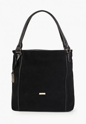 Комплект Adelia сумка с брелоком. Цвет: черный