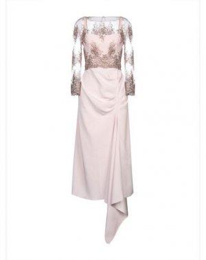 Длинное платье ALEX VIDAL. Цвет: розовый