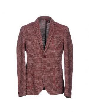 Пиджак BERNA. Цвет: красно-коричневый