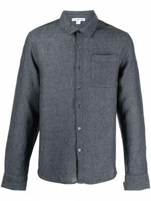 Рубашка с длинными рукавами James Perse. Цвет: серый