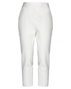 Повседневные брюки BY MALENE BIRGER. Цвет: слоновая кость