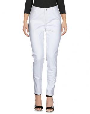 Джинсовые брюки CUT25 by YIGAL AZROUËL. Цвет: белый