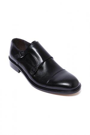 Туфли-монки Frank Daniel. Цвет: черный