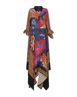 Платье до колена BEATRICE. Цвет: цвет морской волны
