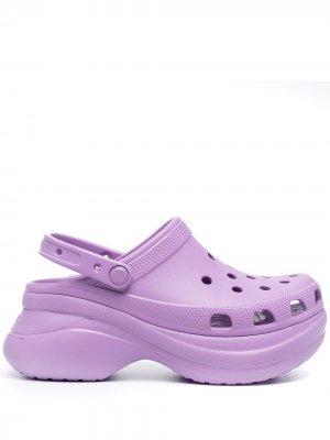 Клоги Bae на платформе Crocs. Цвет: фиолетовый