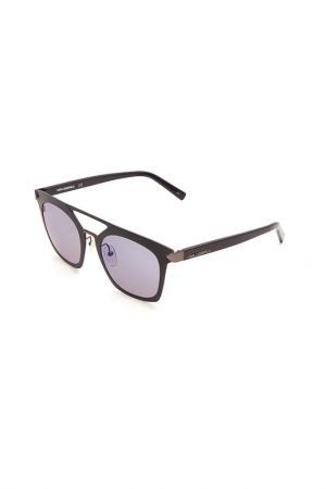 Очки солнцезащитные Karl Lagerfeld. Цвет: 518 синий матовый