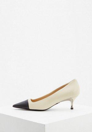 Туфли Furla. Цвет: белый