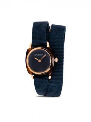 Наручные часы Clubmaster Lady 24 мм Briston Watches. Цвет: синий