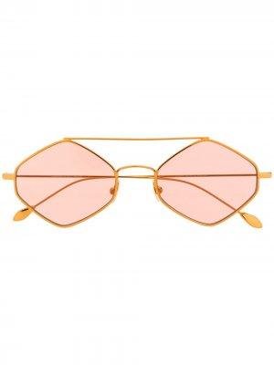 Солнцезащитные очки с затемненными линзами Spektre. Цвет: нейтральные цвета