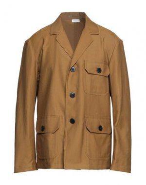 Пиджак DRIES VAN NOTEN. Цвет: зеленый-милитари