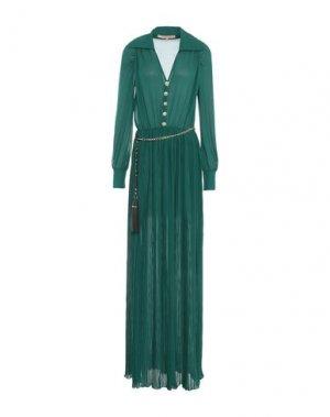 Длинное платье BABYLON. Цвет: зеленый