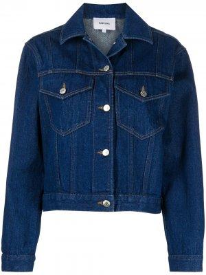 Джинсовая куртка Maren Nanushka. Цвет: синий