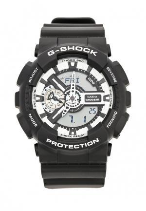 Часы Casio G-SHOCK GA-110BW-1A. Цвет: черный