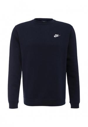 Свитшот Nike Mens Sportswear Crew. Цвет: синий